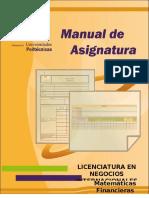 Manual Matemáticas Financieras