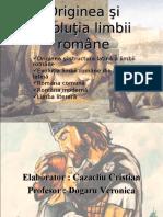 Originea limbii romane.pps