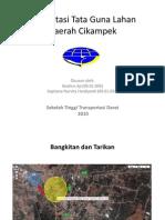 Presentasi Tata Guna Lahan Daerah Cikampek