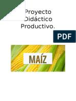 Proyecto Didáctico Productivo