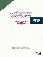 Campbell, Federico - Conversaciones con escritores [34689] (r1.0).epub