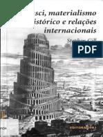 Gramsci, Materialismo Histórico e Relações Internacionais