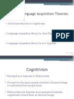 Cognitive Language Acquisition Theories Presentation