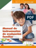 Manual de instrumentos de evaluación familiar