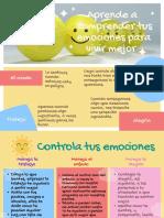 Manejo de emociones para niños de segundo y tercer grado