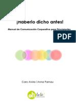 Manual de Comunicación Corporativa para Principiantes