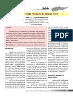 Low salt meat products