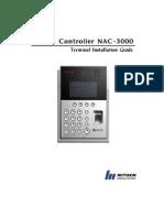 En NAC-3000 Terminal Installation Guide