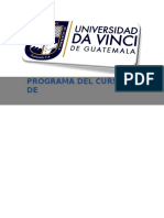 PROGRAMA DERECHO PROCESAL CIVIL