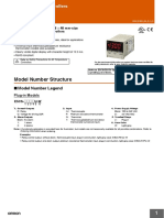 e5cs omron temperature controller