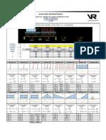 Metodo de Cross, Viga Hiperestatica 2 Tramos.plantilla Excel.Ejemplo01