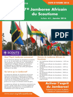 001 Africa Jamboree Bulletin FR