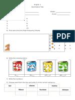 summative assessment 1