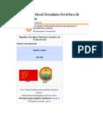 República Federal Socialista Soviética de Transcaucasia