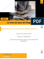 LA LINEA DE BASE DEL DIAGNÓSTICO