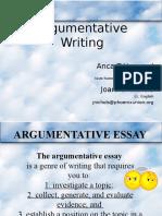 Argument Essay PowerPoint 2.pptx