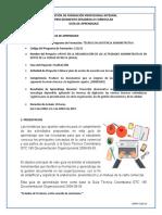 GUIA 5 trancribir documentos