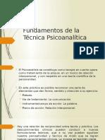Fundamentos de la Técnica Psicoanalítica