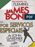 john gardner - por serviços especiais