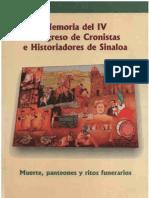 Memoria de IV Encuentro de Historiadores
