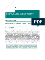 Accounting Theory CHAPTER 7