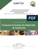 Catálogo de Productos Forestales No Maderable de Guatemala