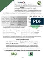 RESUMEN Instituciones guatemaltecas que realizan Investigacion Forestal