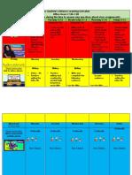 distance learning weekly schedule week 4