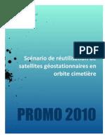 Scénario de réutilisation de satellites géostationnaires en orbite cimetière2