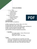 Classification of Fibres