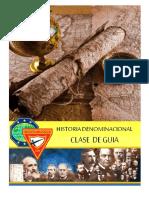 HISTORIA DENOMINACIONAL DE GUIA TG