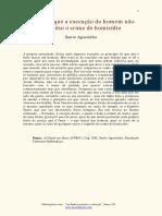Execucao do homem - Agostinho.pdf