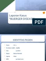 LAPKAS AI (BUERGER DISEASE)