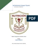 2DO CASO EVALUACION CLINICA NUTRICIA