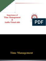 6.Time Management & a-V Aids