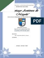 PRACTICA Nº9 ELABORACIÓN DE HELADOS