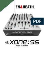 X96 XFADER Calibration
