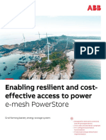 Enabling resilient and cost-effective access to power
