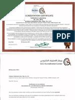 ISO IEC 17025 Accreditation Cert+Scope-GCC Accreditation