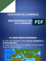 Evolución Comercio - Historia