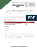 Politica de Representacion y Organizaciones Estudiantiles INACAP