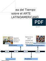 Linea del tiempo- Arte latinoamericano (arte y patrimonio)