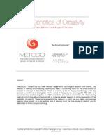 The Genetics of Creativity