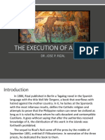 EXECUTION OF RIZAL