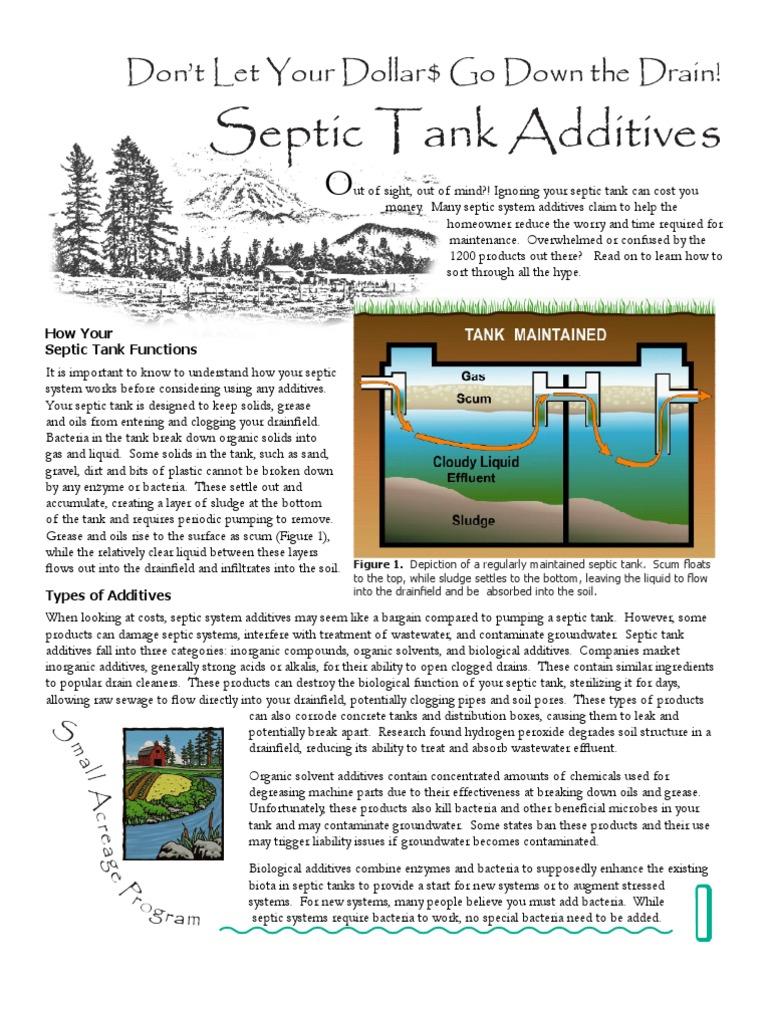 Septic Additives | Septic Tank | Sewerage