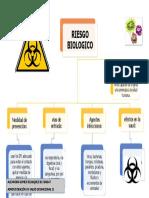 Mapa conceptual Riesgo biologico