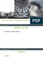 História e teoria da arquitetura, urbanismo_carta de atenas