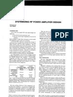 Design RF Ampl