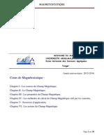 Cours_Magnétostatique_I_ChampMagnetique