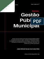 Revista Gestão Pública Municipal - ago 2019